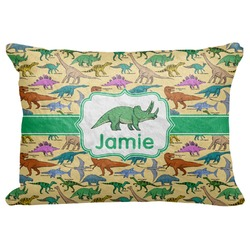 "Dinosaurs Decorative Baby Pillowcase - 16""x12"" (Personalized)"