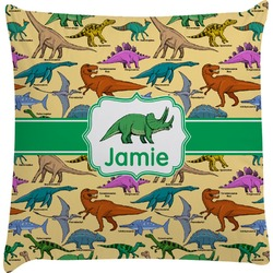 Dinosaurs Decorative Pillow Case (Personalized)
