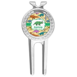 Dinosaurs Golf Divot Tool & Ball Marker (Personalized)