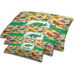 Dinosaurs Dog Bed w/ Name or Text