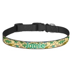 Dinosaurs Dog Collar (Personalized)