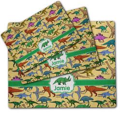 Dinosaurs Dog Food Mat w/ Name or Text