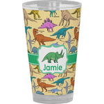 Dinosaurs Drinking / Pint Glass (Personalized)