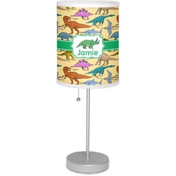 "Dinosaurs 7"" Drum Lamp with Shade (Personalized)"