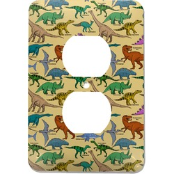 Dinosaurs Electric Outlet Plate (Personalized)