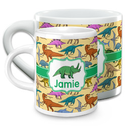 Dinosaurs Espresso Cups (Personalized)