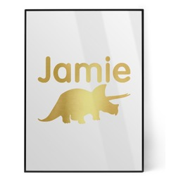 Dinosaurs Foil Print (Personalized)
