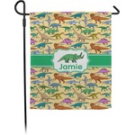 Dinosaurs Garden Flag (Personalized)