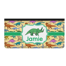 Dinosaurs Genuine Leather Checkbook Cover (Personalized)