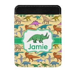Dinosaurs Genuine Leather Money Clip (Personalized)