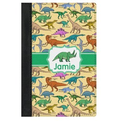 Dinosaurs Genuine Leather Passport Cover (Personalized)
