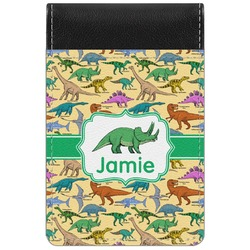 Dinosaurs Genuine Leather Small Memo Pad (Personalized)