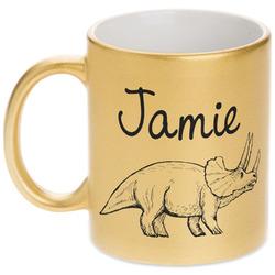 Dinosaurs Gold Mug (Personalized)