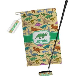 Dinosaurs Golf Towel Gift Set (Personalized)
