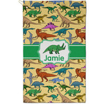 Dinosaurs Golf Towel - Full Print - Small w/ Name or Text