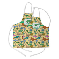 Dinosaurs Kid's Apron w/ Name or Text