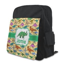 Dinosaurs Preschool Backpack (Personalized)