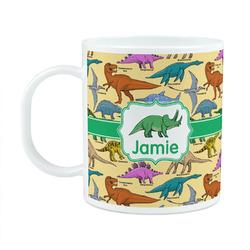 Dinosaurs Plastic Kids Mug (Personalized)