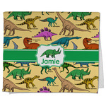 Dinosaurs Kitchen Towel - Full Print (Personalized)