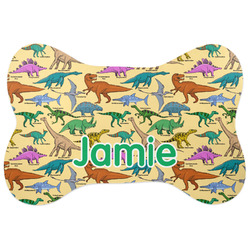 Dinosaurs Bone Shaped Dog Food Mat (Personalized)