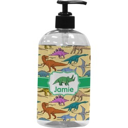 Dinosaurs Plastic Soap / Lotion Dispenser (Personalized)