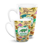Dinosaurs Latte Mug (Personalized)