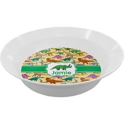 Dinosaurs Melamine Bowl (Personalized)
