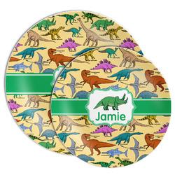 Dinosaurs Melamine Plate (Personalized)