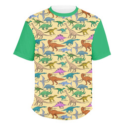 Dinosaurs Men's Crew T-Shirt (Personalized)