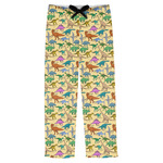 Dinosaurs Mens Pajama Pants (Personalized)