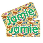 Dinosaurs Mini/Bicycle License Plates (Personalized)