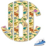 Dinosaurs Monogram Iron On Transfer (Personalized)