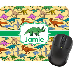 Dinosaurs Rectangular Mouse Pad (Personalized)
