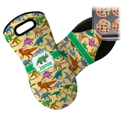 Dinosaurs Neoprene Oven Mitts w/ Name or Text