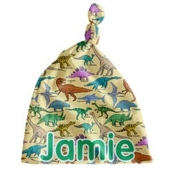 Dinosaurs Newborn Hat - Knotted (Personalized)