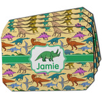 Dinosaurs Dining Table Mat - Octagon w/ Name or Text