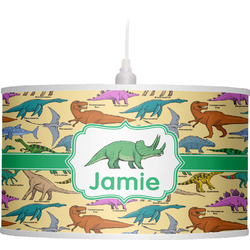 Dinosaurs Drum Pendant Lamp (Personalized)