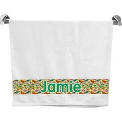 Dinosaurs Bath Towel (Personalized)