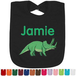 Dinosaurs Bib - Select Color (Personalized)