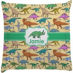 Dinosaurs Euro Sham Pillow Case (Personalized)
