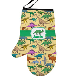 Dinosaurs Left Oven Mitt (Personalized)