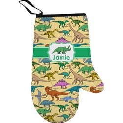 Dinosaurs Right Oven Mitt (Personalized)