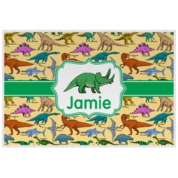 Dinosaurs Laminated Placemat w/ Name or Text