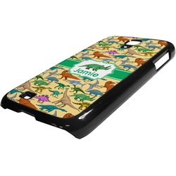 Dinosaurs Plastic Samsung Galaxy 4 Phone Case (Personalized)