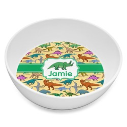 Dinosaurs Melamine Bowl 8oz (Personalized)