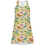 Dinosaurs Racerback Dress (Personalized)