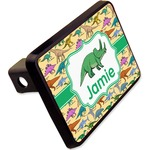 "Dinosaurs Rectangular Trailer Hitch Cover - 2"" (Personalized)"