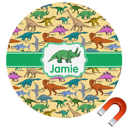 Dinosaurs Car Magnet (Personalized)