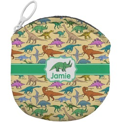 Dinosaurs Round Coin Purse (Personalized)