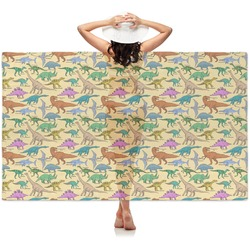 Dinosaurs Sheer Sarong (Personalized)